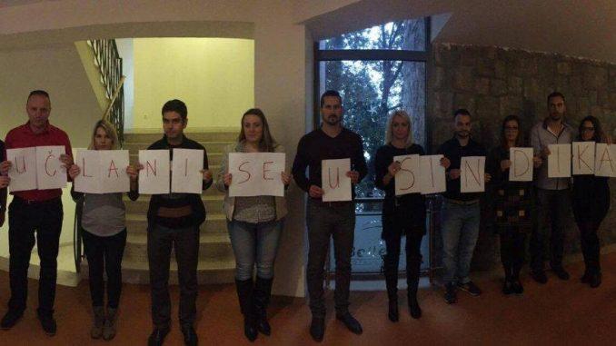 Aktiv mladih Saveza sindikata Republike Srpske