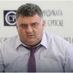 Мр Драган Гњатић, предсједник Синдиката ОНК Републике Српске.