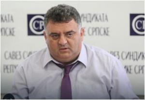 Mr Dragan Gnjatić, predsjednik Sindikata ONK Republike Srpske.