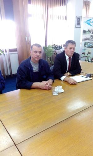 """Одржан радни састанак у предузећу """" КОСМОС """" Бањалука"""