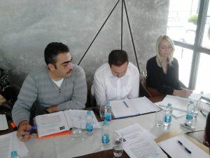 Резиме јавних расправа у вези Анализе примјене Закона о раду поднијео је извјестилац Борислав Радић.
