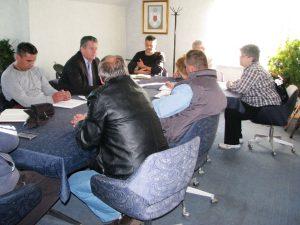 У синдикалном тиму поред предсједника Пеулића, били су и Огњен Ристић, Мирко Пејашиновић, Жељко Вујат, Мирко Гончин и Бошко Гргић.