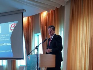 Potpredsjednik Saveza sindikata Republike Srpske Tane Peulić gost na 6. Kongresu Samostalnog sindikata osnovnog obrazovanja i odgoja Federacije BiH
