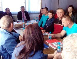 Састанак предсједника Пеулића са синдикалним одбором Алумине Зворник