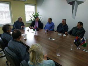 Предсједник синдиката металске индустрије и рударства Републике Српске посјетио је и предузеће ТРБ Братунац