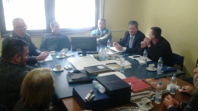 Одржан састанак у а.д. Рудник боксита Сребреница