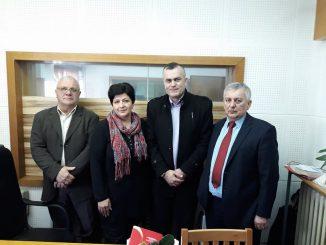 Предсједник Синдиката медија и графичара у посјети Радио Градишци