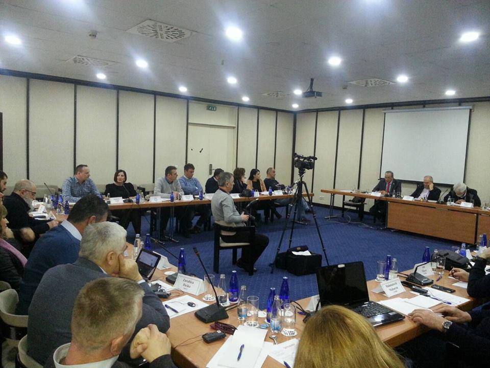"""Конференција је дио активности које овај Савјет заједно са Европском конфедерацијом синдиката реализује кроз   Пројекат """"На путу ка ЕУ""""  уз финансијску подршку Европске комисије."""