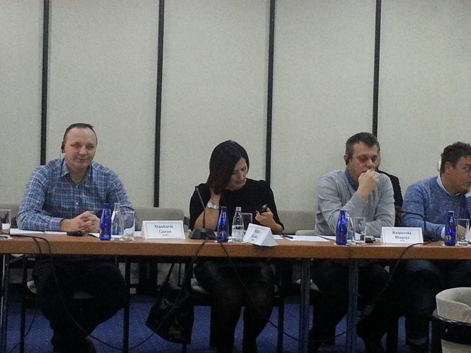 "Конференција о теми "" Социјални и економски развој – синдикати и политика"" Сарајево, 21.фебруар 2018.године"