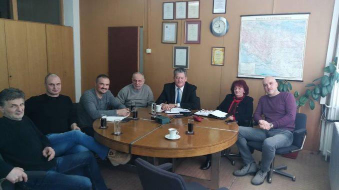 """Одржан састанак у предузећу УНИС """" UCHA """" Вишеград"""