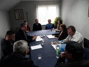 Састанку су присуствовали представници друштва, Ermes Boninsegna – акционар, Марко Gончин – директор и Ivo Ruzzon – нови партнер.