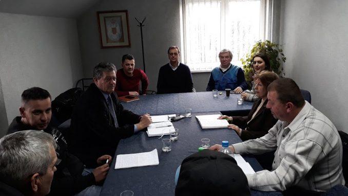 """Одржан састанак синдиката и представника друштва а.д. """" Метал """" Градишка"""