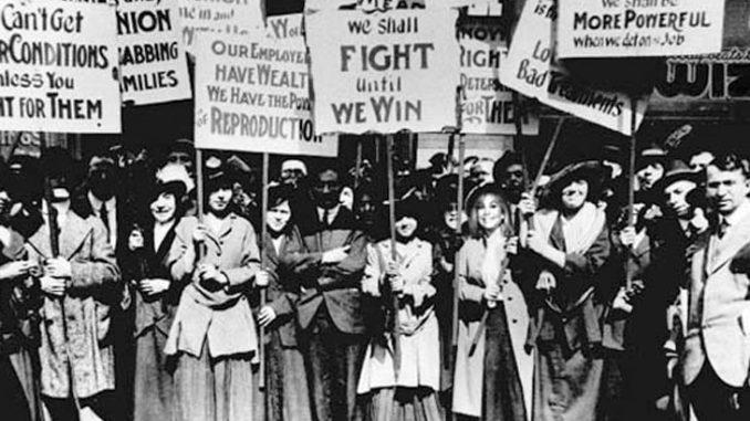 Протести жена у САД почетком 20. вијека поводом 8. марта