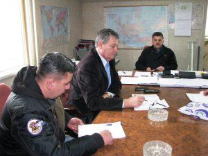 Са члановима синдикалног одбора учествовао у преговорима са директором 'Метала' Марком Гончином