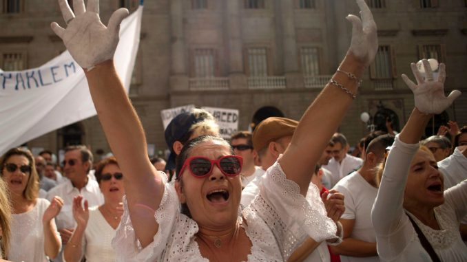 Žene u Španiji štrajkuju 8. marta