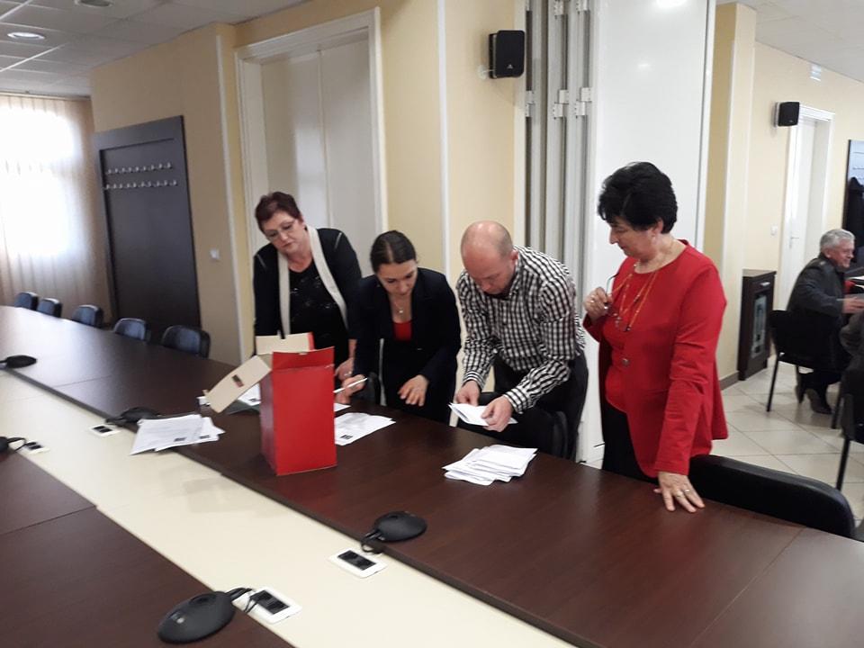 За предсједника је изабран Бранко Зеленовић, дипломирани инжињер саобраћаја.