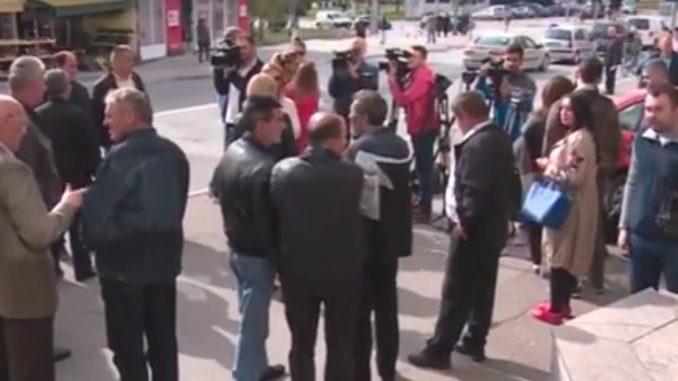 "Održan protest radnika "" Put "" a.d. Banjaluka"