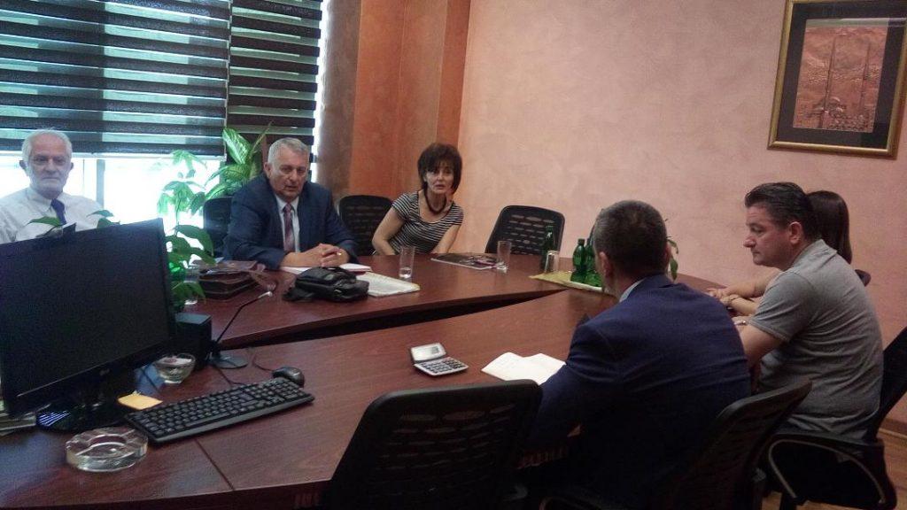 U delegaciji STUD RS pored predsjednika Gorana Savanovića,bili su Nedeljka Trifunović ,zamjenik predsjednika sindikalne organizacije Bingo RS i Nebojša Bljajić, diplomirani pravnik SSRS iz RSC Doboj