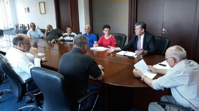 Одржан састанак синдикалног одбора и руководства фабрике УНИС - Фабрика цијеви а.д. Дервента