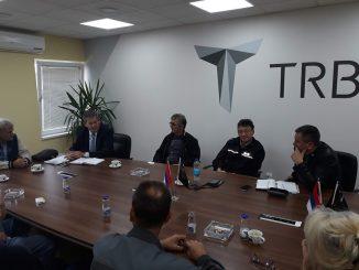 Predsjednik Peulić prisustvovao sastanku sindikalnog odbora Tehnički remont Bratunac