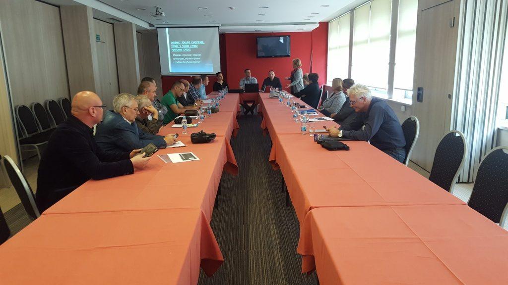 Након одржаног Округлог стола одржана је и сједница органа Синдиката локалне самоуправе, управе и јавних служби Републике Српске.