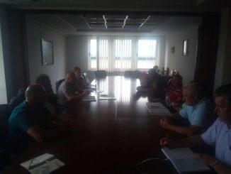 Записник са састанка у УНИС Фабрика цијеви Дервента. 17.07.2018. године