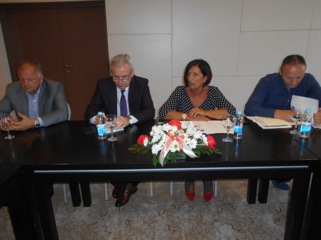 Свечаној сједници присуствовали су и министар Миленко Савановић и предсједник УУП РС Драгутин Шкребић
