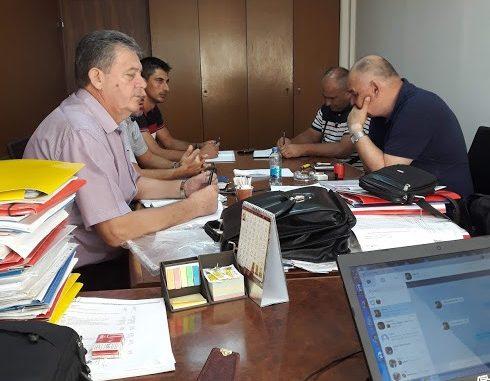 """Састанак представника синдикалне организације """" Алумина """" са стечајним управником"""