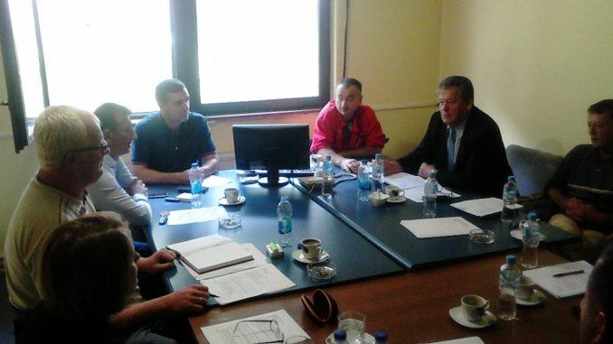 Одржан састанак менаџмента и синдиката у а.д. Рудник боксита Сребреница