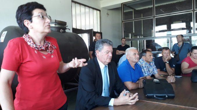 """Sastanak sindikalne organizacije """" UNIS """" Derventa"""