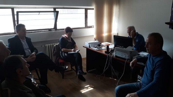 Састанак представника СО УНИС Дервента са стечајним управником