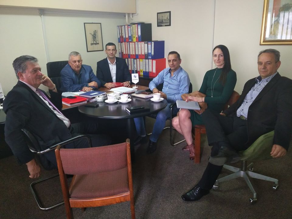 Sindikalni odbor sindikalne organizacije opštinske uprave Laktaši sa delegacijom Saveza sindikata Republike Srpske