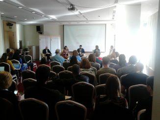 """Radionica radne grupe IT, mediji i komunikacije Regionalnog sindikalnog savjeta """" Solidarnost """", Podgorica, 23. i 24. novembar 2018. godine"""