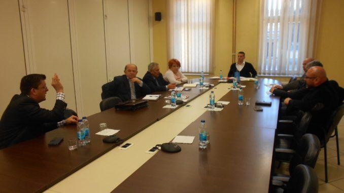 Састанак предсједника Зеленовића са синдикалцима регије Бањалука