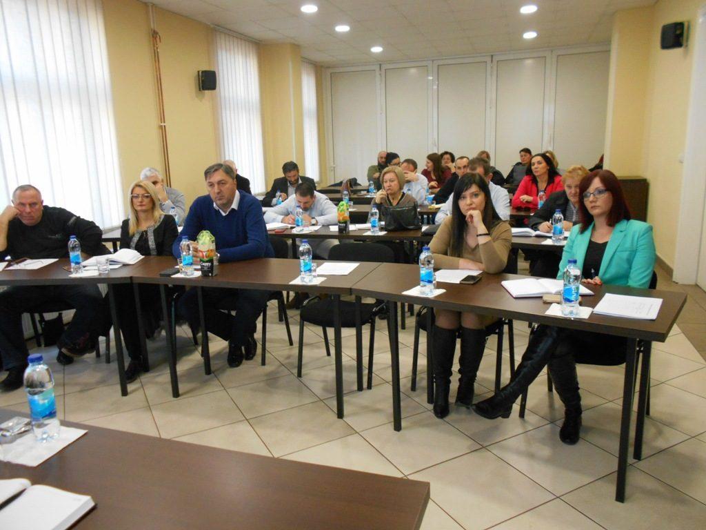 Сједница Републичког одбора Синдиката образовања, науке и културе Републике Српске одржана је 26. децембра 2018. године , у Дому синдиката у Бањалуци