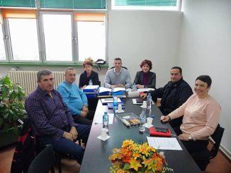 Sastanak predsjednika Zelenovića sa sindikalcima regije Istočno Sarajevo, 11.12.2018. godine
