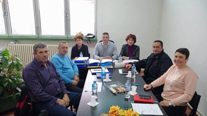 Састанак предсједника Зеленовића са синдикалцима регије Источно Сарајево, 11.12.2018. године