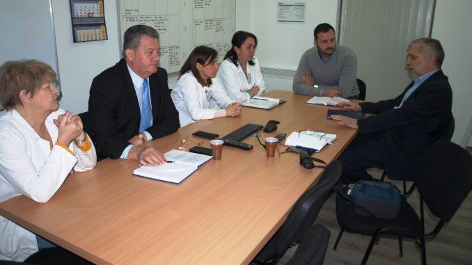 Предсједник Пеулић разговарао са новим директором и новом предсједницом синдиката у 'Механизмима Б' у Градишци