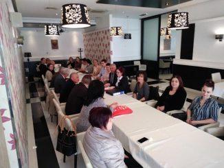 """Сједница синдикалног и надзорног одбора јединствене синдикалне организације """" БИНГО РС """" и семинар из радно - правне области, Добој, 15.03.2019. године"""