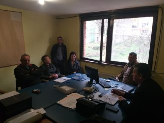 Проширени састанак синдикалног одбора а.д. Рудник боксита Сребреница