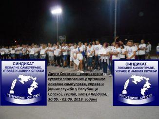 Poziv za učešće na Drugim sportsko - rekreativnim susretima