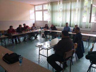 Predsjednik Sindikata ONK Republike Srpske Dragan Gnjatić u Srebrenici