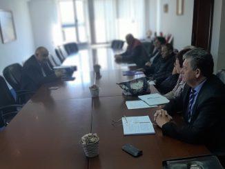 Састанак синдикалног одбора УНИС Дервента са предстечајним управником