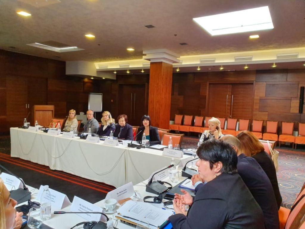 U radu sesije učestvuje predsjednica Saveza sindikata Republike Srpske Ranka Mišić