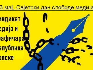 Srećan Dan slobode medija - Sindikat medija i grafičara Republike Srpske