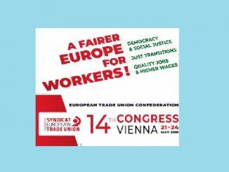Održan 14. Kongres Evropske konfederacije sindikata