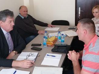 Састанак предсједника Пеулића са директором А.Д. Каменоломи Зворник