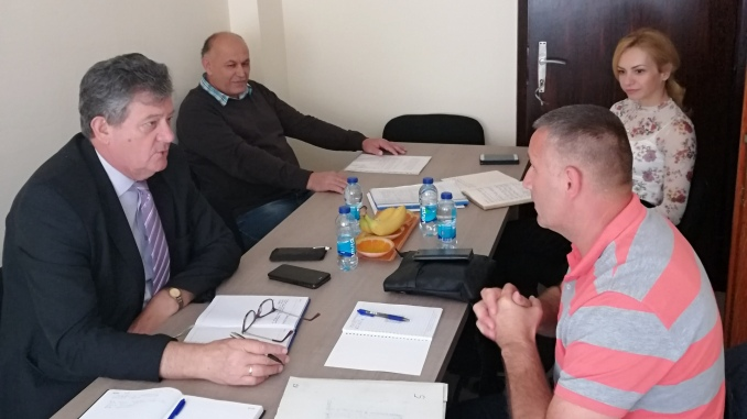 Sastanak predsjednika Peulića sa direktorom A.D. Kamenolomi Zvornik