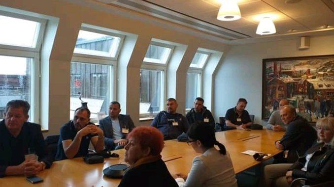 """Delegacija Sindikata metalske industrije i rudarstva Republike Srpske u posjeti """"IF Metal"""" Švedska"""