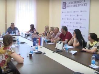 Сједница Извршног одбора Синдиката образовања, науке и културе Републике Српске